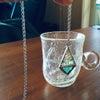 ガラスカットも鉛フリーハンダも!ステンドグラスのペンダント体験レッスン(*^^*)の画像
