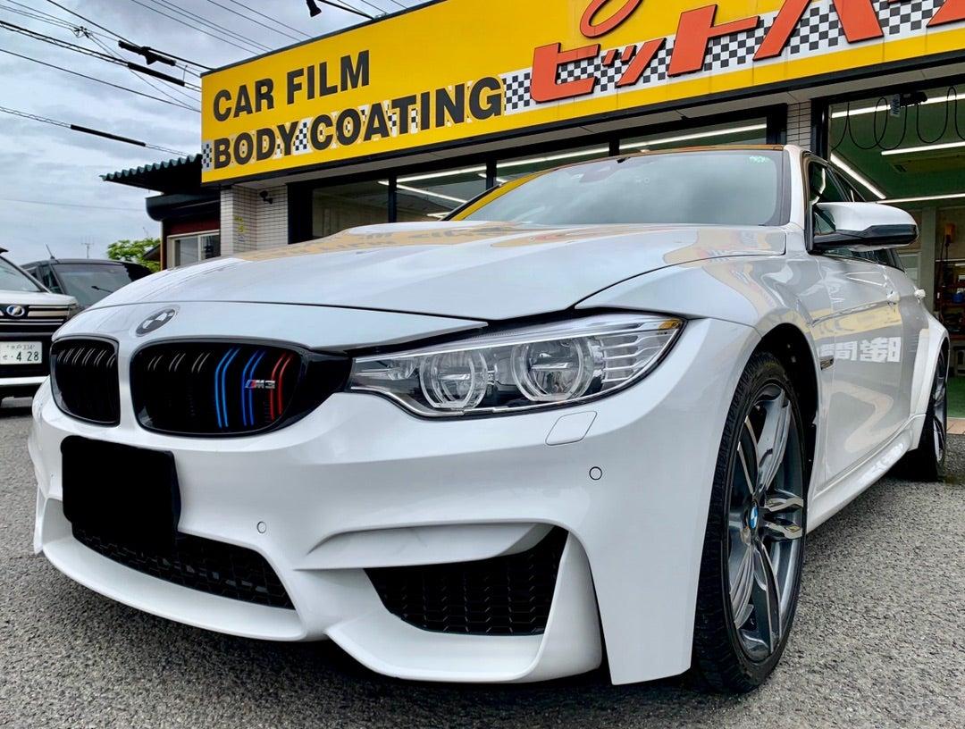 BMW M3 リアルガラスコートclassM施工