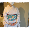素敵な染め帯コーデー森田麻里作-の画像