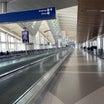 ガラガラのLAX国際線ターミナル