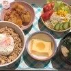 ☆☆4/22日昨日の夜ごはん☆☆簡単!パクパク!鶏そぼろ丼(⌒▽⌒)