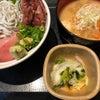 今日のランチ(海鮮丼)の画像