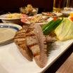 最強ちょい呑みメニュー!厚切り牛たんセット¥1,000『徳田酒店 御肉酒場』大阪駅前第3ビルB1