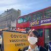 アストラゼネカワクチン接種1回目in Londonの画像
