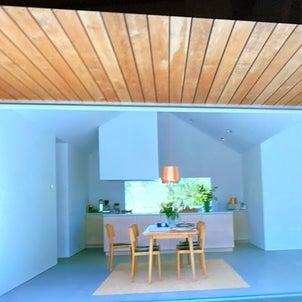 子どもとの空間・土間のある家の画像
