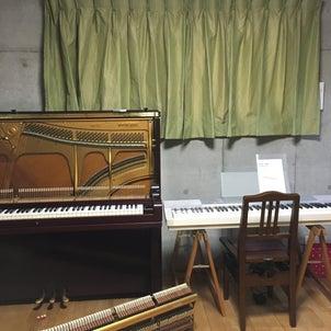 ピアノは古くてもノープロブレム!の画像