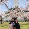 桜前線到来。の画像