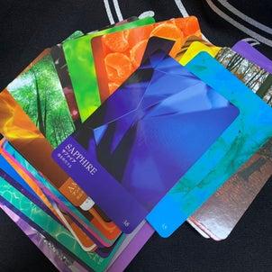 インスピレーションのわく場所とカードたちの画像