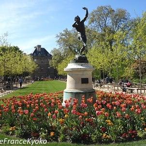 ロックダウンでも大賑わいの春のリュクサンブール公園の画像