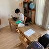 リビング学習スペース3年目のリニューアル、オンライン学習にもフィット!の画像