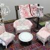 *  カルトナージュ  * ソファ 〜お椅子のシリーズをオンラインレッスンで 〜の画像