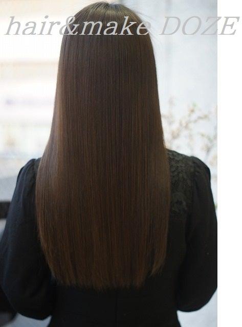 髪が嘘のように収まっていきます!←嘘ではないです!!!