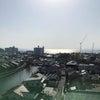 令和3年4月20日時点 松江センターアゼリア新築工事進捗状況の画像