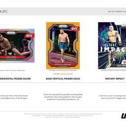 画像 2021 Panini Prizm UFCカード 新商品情報! の記事より 2つ目