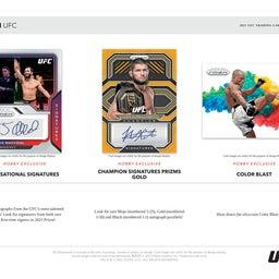 画像 2021 Panini Prizm UFCカード 新商品情報! の記事より 3つ目