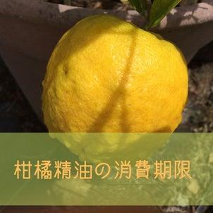 〇柑橘精油の消費期限の画像