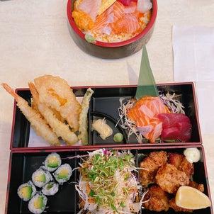 サウスポートで日本食ランチの画像