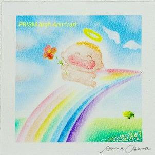 胎内記憶とお空の世界の画像