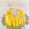 カボチャがたっぷり!スフレロールのバースデーケーキの画像