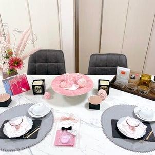 レッスンレポ♡桜のアフタヌーンティーレッスンの画像