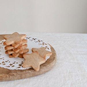 【レシピ公開★作業時間5分 米粉のシナモンと生姜のクッキー】の画像