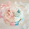 ジェンダーリビールケーキ オーダーの画像