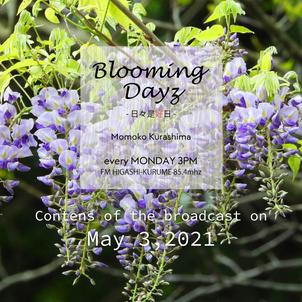 Blooming Days -日々是好日-|2021.5.3|FMひがしくるめの画像
