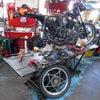 BLACK SUZI! スズキ GS400 墨鈴 神奈川県 福永様、St4整備中! GS400Eの画像