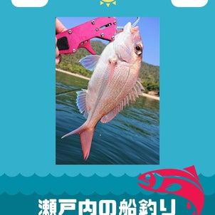 瀬戸内の船釣りの画像