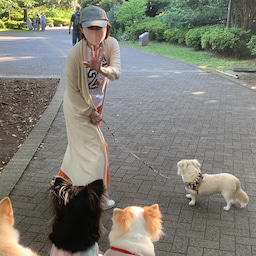 画像 やっと一緒にお散歩に来れたね❣️ の記事より 5つ目