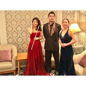 京王プラザホテルChristmasディナーコンサートの画像