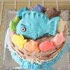 カラフルたい焼き江別「たい吉」さんのオーダーケーキの画像