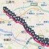 世田谷野川沿いLSDで深大寺まで往復26キロの画像