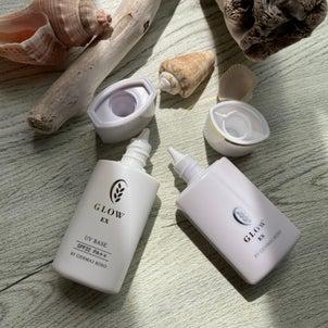 肌に優しい玄米酵素のグローEXシリーズ(日焼け止め&リキッドファンデ)の画像
