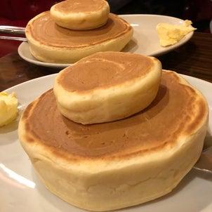 珈琲家【茅場町】⑪~ビーフシチューとホットケーキとコーヒーとの画像