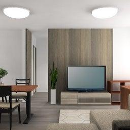 画像 マンションの家具の配置提案 ⑤ マンションの構造体の柱がお部屋の角にある間取りの家具の配置術 の記事より 14つ目