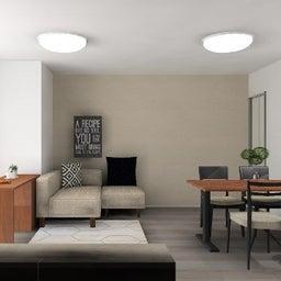 画像 マンションの家具の配置提案 ⑤ マンションの構造体の柱がお部屋の角にある間取りの家具の配置術 の記事より 11つ目