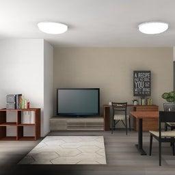 画像 マンションの家具の配置提案 ⑤ マンションの構造体の柱がお部屋の角にある間取りの家具の配置術 の記事より 16つ目