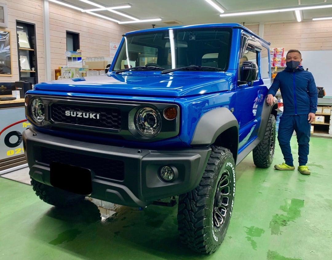 SUZUKI ジムニーシエラ新車 リアルガラスコートclassM施工