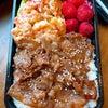 焼き肉&エビマヨ弁当です!!の画像