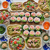母の日で良い嫁アピール大作戦!お花の巻き寿司なんていかがでしょう