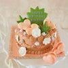 お母様手作りのバースデーケーキの画像