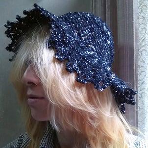 折り畳み帽子完成♡頭がコパカバーナの画像