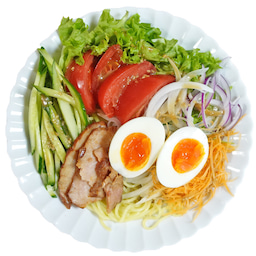 画像 焼豚とたっぷり野菜の胡麻ドレつゆかけ冷やし中華 の記事より 15つ目