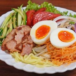 画像 焼豚とたっぷり野菜の胡麻ドレつゆかけ冷やし中華 の記事より 2つ目