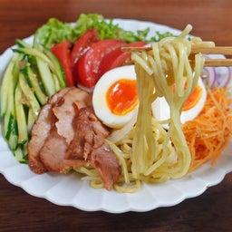画像 焼豚とたっぷり野菜の胡麻ドレつゆかけ冷やし中華 の記事より 3つ目