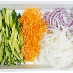 画像 焼豚とたっぷり野菜の胡麻ドレつゆかけ冷やし中華 の記事より 10つ目