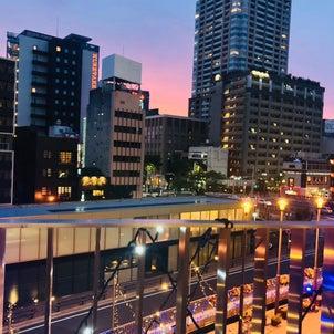 ゆっくり見た夕焼け♪こんなにキレイだったんだね。の画像