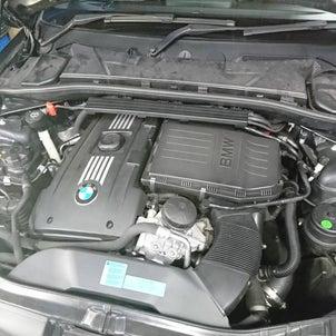 FD2ラッシュ、ハルテックフルコン化と70パイワンオフマフラー制作、BMW 135オイル漏れ修理の画像