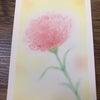 母の日にパステル画をプレゼントの画像